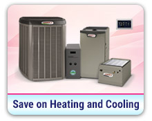 Save on Heating and Cooling